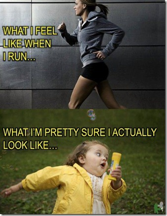 Perception of Running