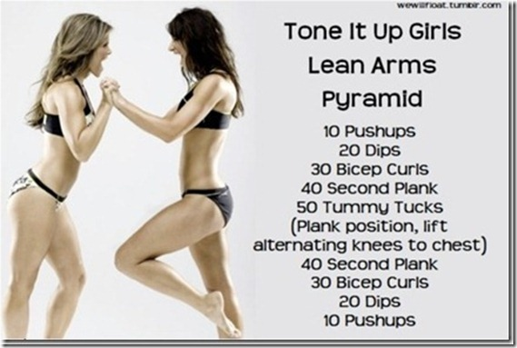 Tone It Up Arms